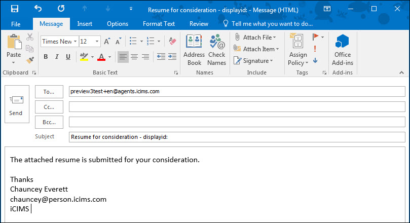 creating a new candidate manually in the platform or via