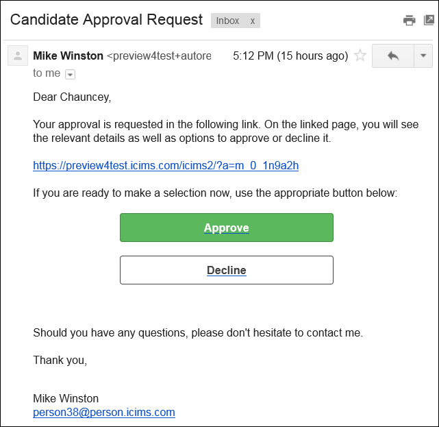 Understanding Approval Emails And Approval Screens