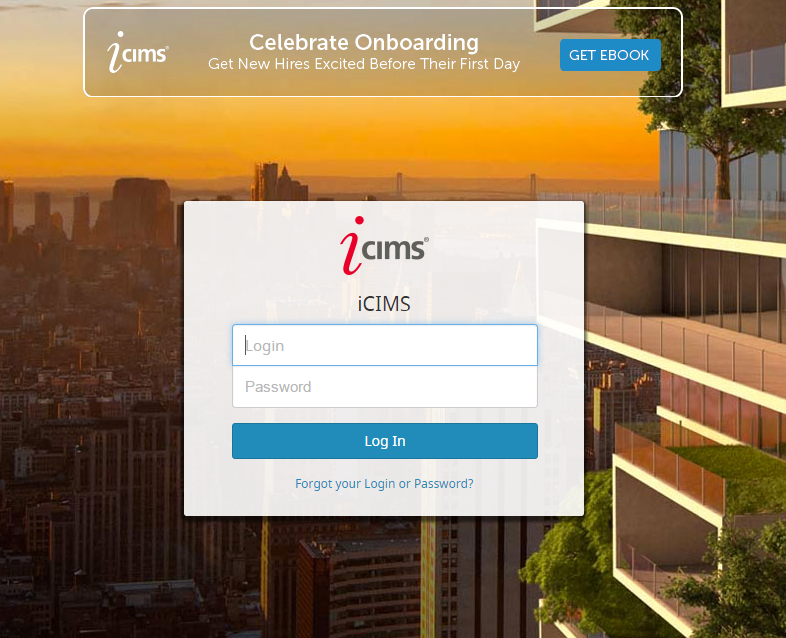 Logging in and out of the iCIMS Talent Platform